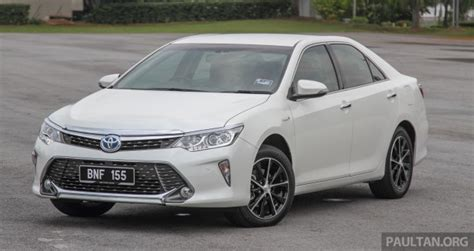 Toyota Camry Hybrid Malaysia Toyota Camry Hybrid Price Unchanged For 2016