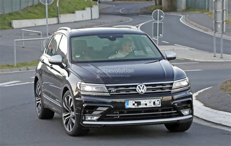 volkswagen tiguan white 2018 2018 volkswagen tiguan r spotted at nurburgring not