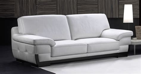Canapé Inclinable by Canap Moderne 3 Places Canap Cuir Blanc Royal Sofa Id E