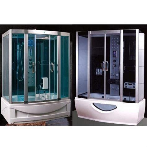cabina vasca cabina e vasca idromassaggio in pi 249 misure con sauna e