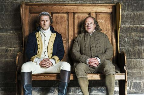 benjamin franklin biography history channel sons of liberty jason o mara on playing george
