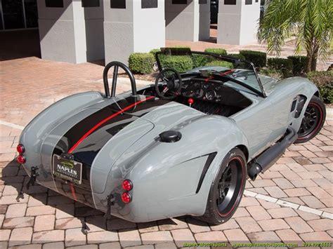 Cobra Auto Nachbau by 1965 Replica Kit Back Draft Racing Shelby Cobra