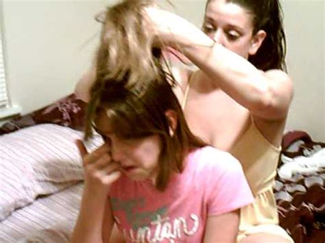 i would like a forced headshave a dramaqueen moment between a mother and a daughter over