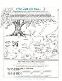 Food Webs Worksheets by Decomposers Worksheets For Archbold Biological