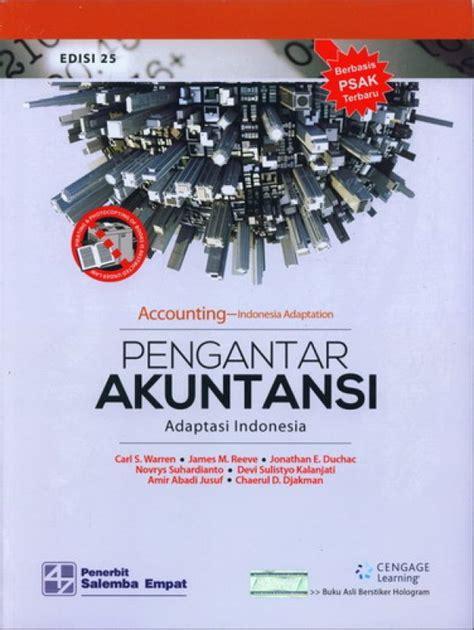 bukukita pengantar akuntansi adaptasi indonesia edisi 25