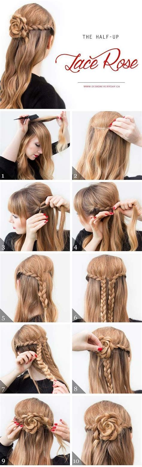 cool and easy hairstyles step by step best 25 quick school hairstyles ideas on pinterest