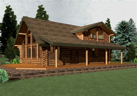 home design software log home apline renders