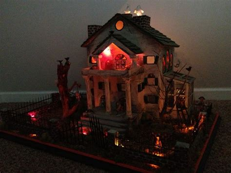 Diy Haunted House by Diy Haunted House Lit Up