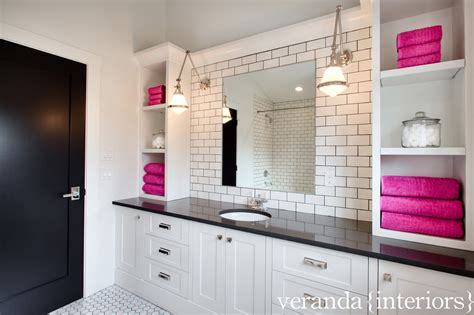 black white pink bathroom blue and pink bathroom designs write teens