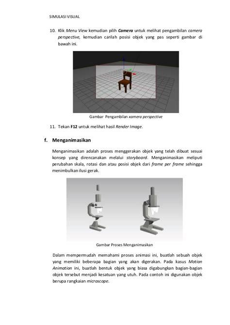 tutorial pengambilan gambar video tutorial membuat simulasi visual