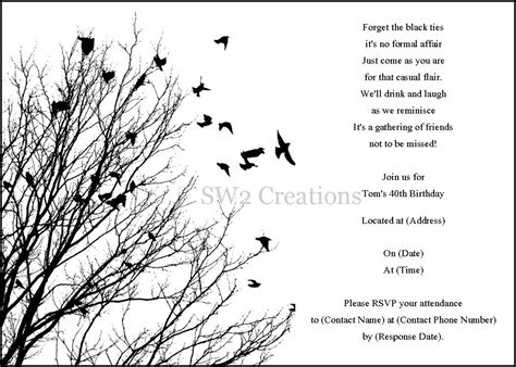 card templates free black and white printable black and white birthday cards cloudinvitation