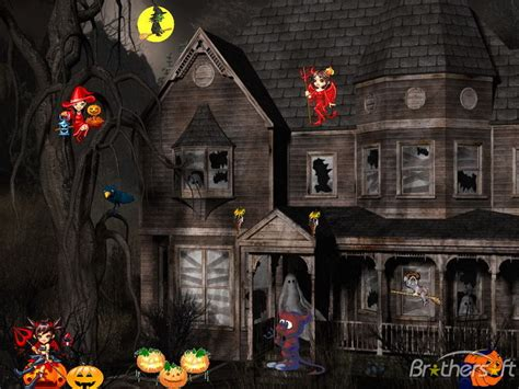 free animated halloween wallpapers for windows 7 halloween animated with sound wallpapers wallpapersafari