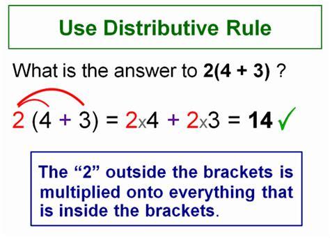 expanding brackets using distributive rule passy s world