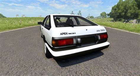Toyota Trueno Ae86 Toyota Ae86 Sprinter Trueno For Beamng Drive
