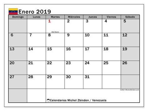 calendario enero  venezuela calendario enero calendario septiembre  calendario