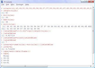 Membuat Tabel Distribusi Frekuensi Berkelompok | sisca source code area membuat tabel distribusi