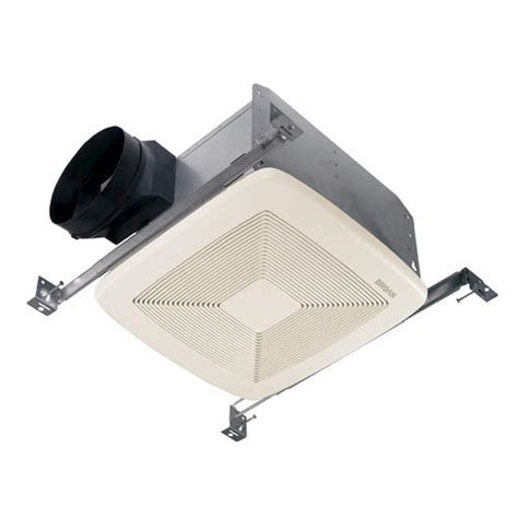quiet bathroom exhaust fans broan 174 qt quiet bath fan 150 cfm at menards 174