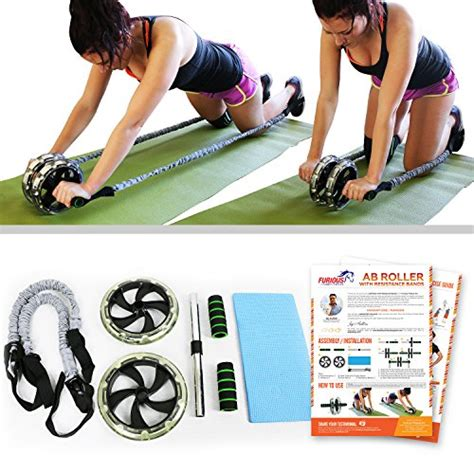 free shipping furious fitwear ab roller wheels for for abs toning