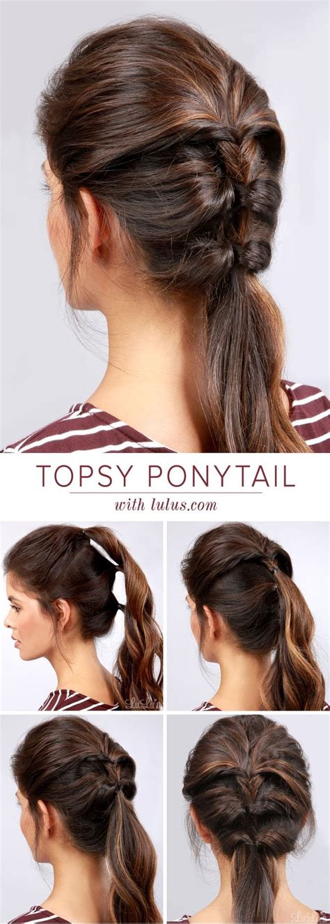 hair tutorial 22 great ponytail hairstyles for girls pretty designs