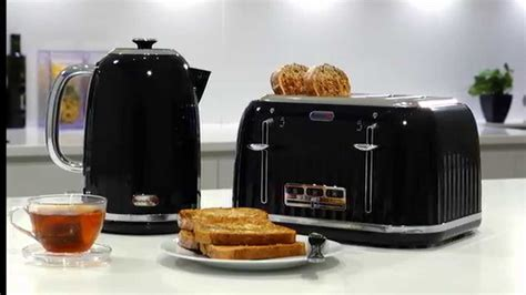 Black 4 Slice Toasters Breville Impressions Kettles And Toasters Youtube