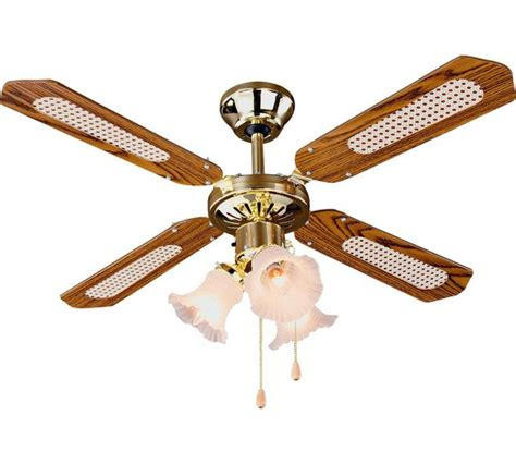 sports ceiling fans with lights buy home decorative 3 light ceiling fan brass at argos