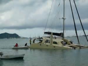 quick boats for sale australia australian cruising catamaran holed on unchartered reef in