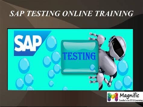 sap testing tutorial pdf sap testing online training in uk authorstream