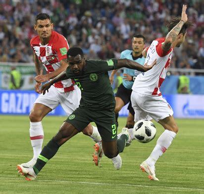 nigeria vs croatia mixed reactions trail eagles loss