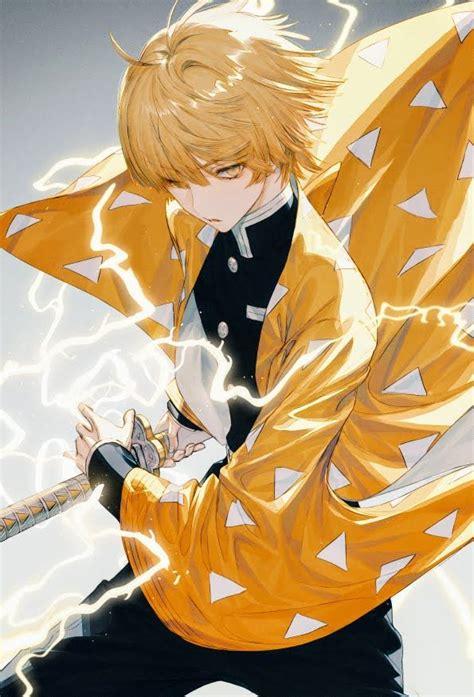 zenitsu agatsumakimetsu  yaiba art fanart anime