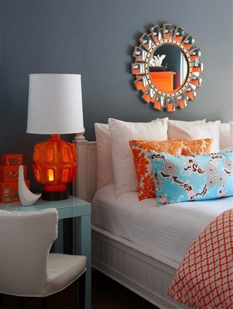 turquoise and orange bedroom best 25 grey orange bedroom ideas on pinterest orange