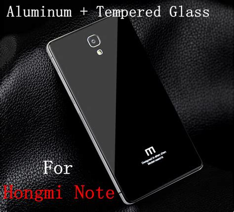 Aluminium Tempered Glass For Xiaomi Mi4s Blackblack 1 aliexpress buy xiaomi redmi note back cover