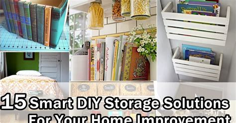 15 smart creative storage solutions 15 smart diy storage solutions for your home