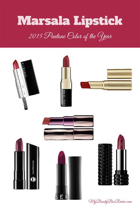 lipstick colors for 2015 marsala lipsticks 2015 pantone color of the year