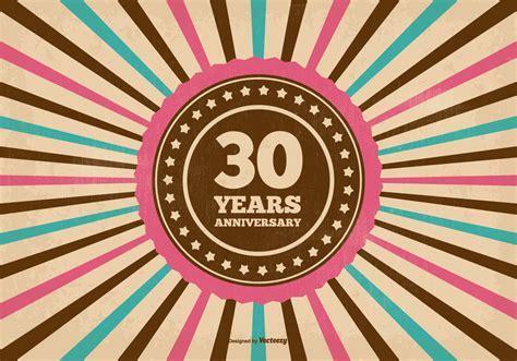 30 Years Anniversary Free Vector Art   (9453 Free Downloads)