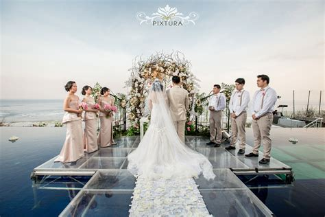 Wedding Bali by Latitude Villa Bali Bali Water Wedding Eldwin Shilla