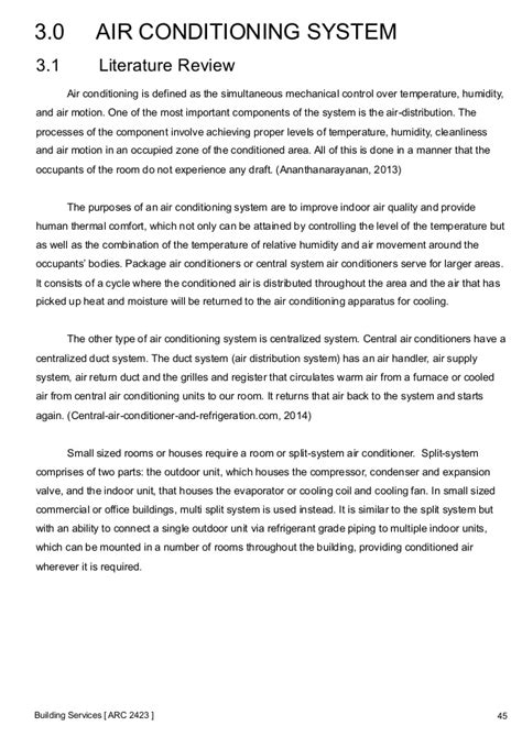 Introduction Letter For Hvac Company Building Services Report