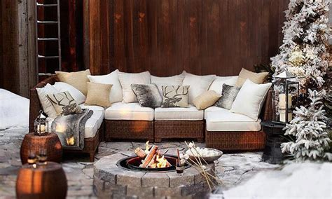 cosy nordic inspired outdoor living