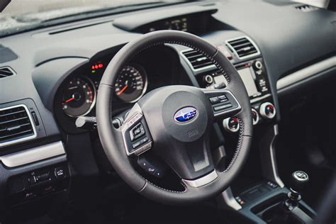 subaru forester steering wheel review 2016 subaru forester 2 5i touring canadian auto