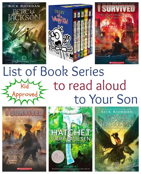 9 best book series for teenage boys chapter book series to read aloud to your son life