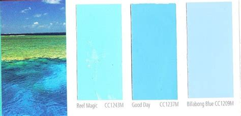 ocean blue paint pool color swatch jpg 816 215 395 decorating pinterest