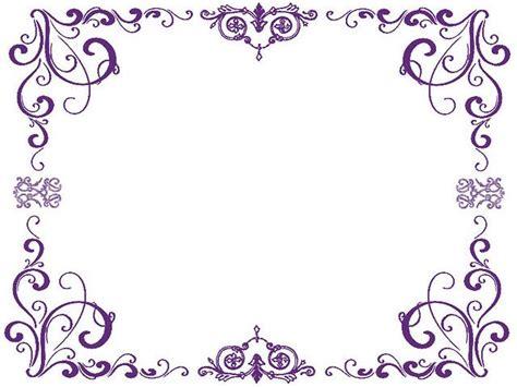 Bordir Purple purple swirl border purple borders trucks watercolors photos and results