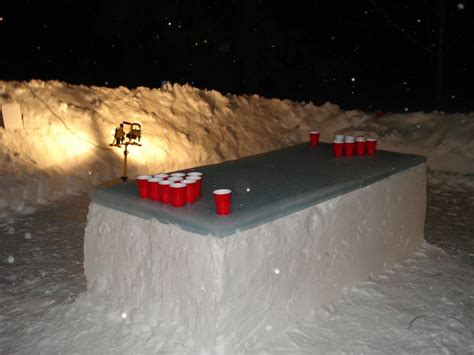 Polar Beirut How To Make An Snow Beirut Table Espa 241 Ol