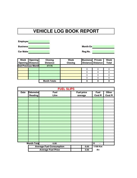 template of vehicle log book ato vehicle log book vehicle ideas