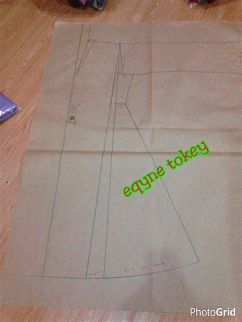 pattern dress labuh kebarong kebarung kebaya pesak riau by eqyne tokey