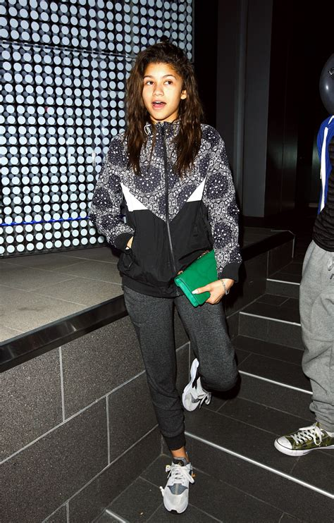 zendaya coleman style 2015 zendaya coleman casual style at boa steakhouse in los