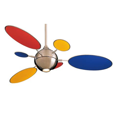 colorful ceiling fans cirque ceiling fan by minka aire fans f596 bn with fb196