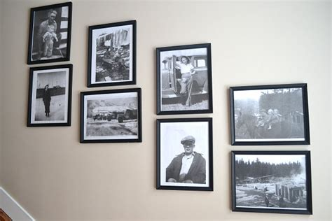 family frame wall helpful hints for displaying family photos on your walls