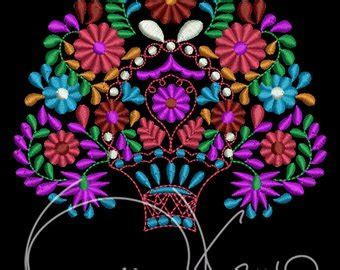 mexican flower embroidery patterns | www.pixshark.com