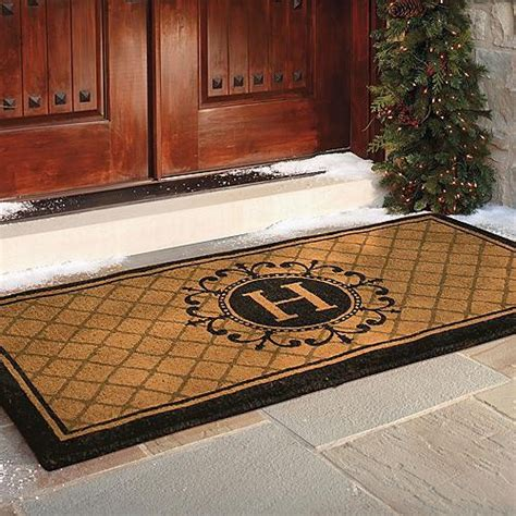 Entry Door Mats For Doors Ascot Coco Entry Mat Frontgate Traditional Doormats