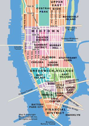 Manhattan Island Map New York by Map Of Bridges And Tunnels Inigo S New York